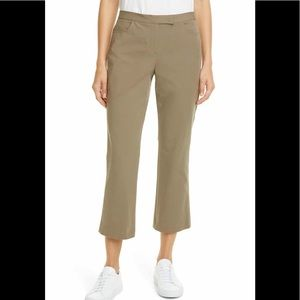 Theory Stretch Crop Pants, Size 2, NWT